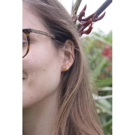 Boucle d'oreille Clou