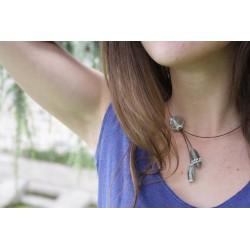 Collier en Perles de Verre Excentrik