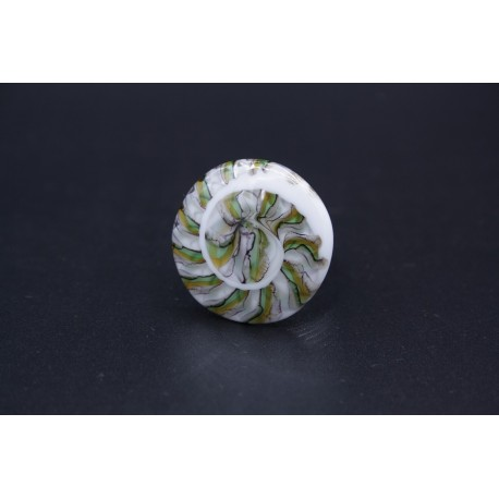 Bague murano escargot