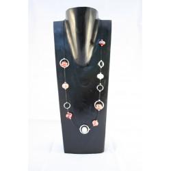 Collier de Perles de Verre de Murano - Sphères