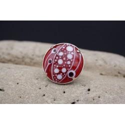 Bague en Perle de Verre de Murano - Serti