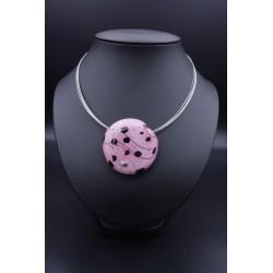 Collier Grosse Perle de Verre de Murano