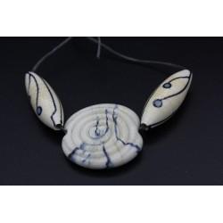 Kit perles couleur raku en verre de Murano