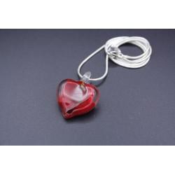 Pendentif Coeur en verre