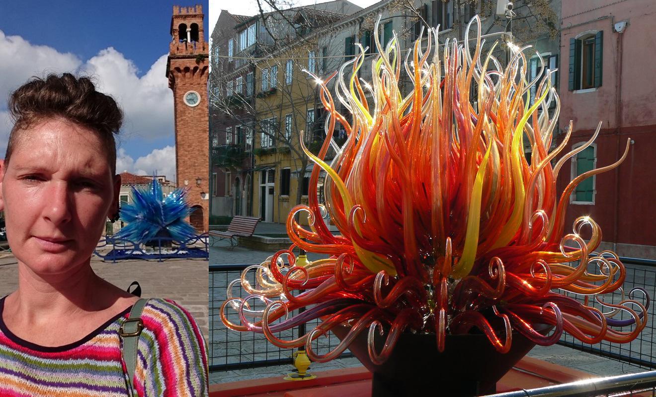 Visite des atelier de verre de Murano, Venise, Italie